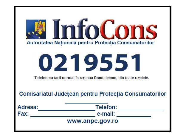 Placheta care din 6 ianuarie 2013 trebuie afisata de toti agentii economici
