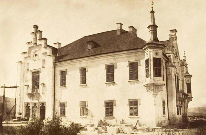 Castele Teleki Uioara de Sus, Ocna Mureş 1864