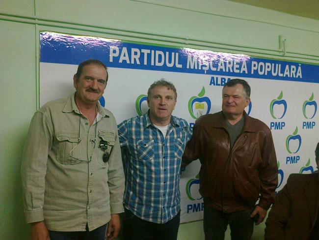 Clement Negrut impreuna cu conducerea PMP Ocna Mures