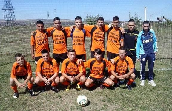 Echipa de fotbal juniori CS Ocna Mureş