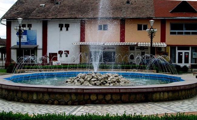 Fantana arteziana Ocna Mures 2013. Foto: Ioan Florea- Facebook