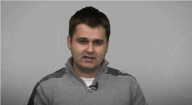 "Haiduc Alin Andrei- realizator emisiunea ""Povestea mea"""
