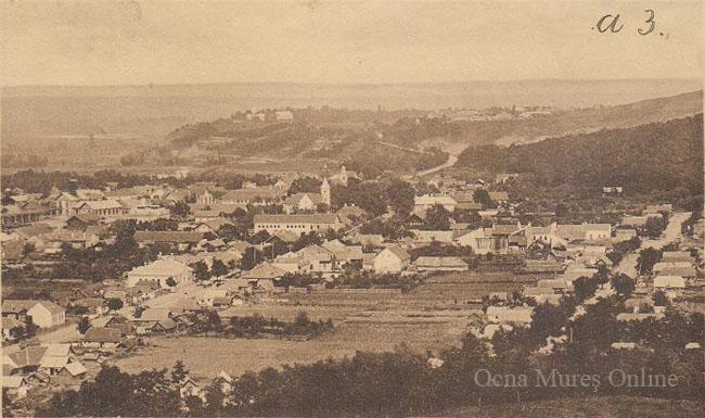 Ocna Mureş, vedere generală 1913.