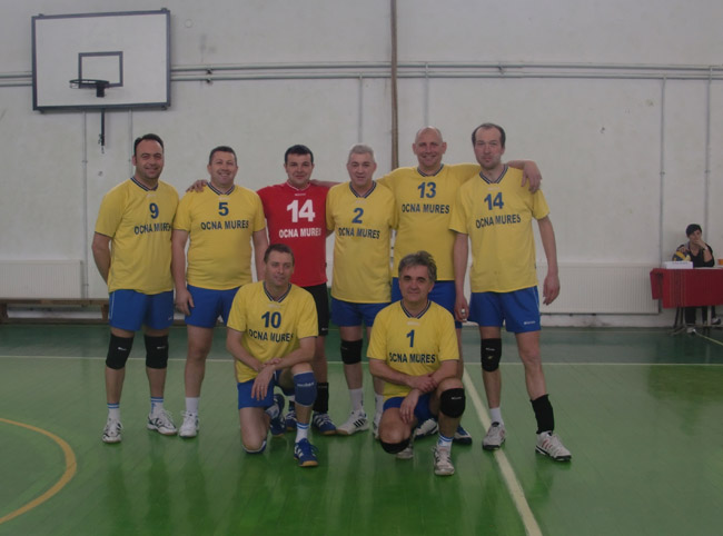 Echipa Old Boys Ocna Mures la turneul de la Turda, februarie 2013