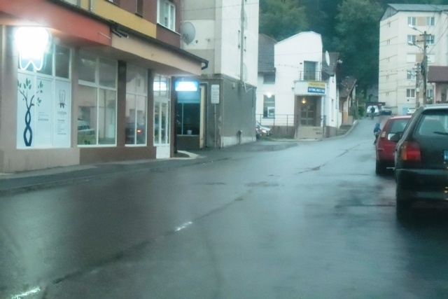 Strada 1 Mai după lucrări