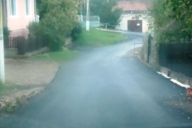 Strada Axente Sever dupa lucrari