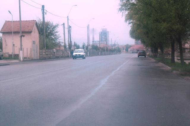 Strada Mihai Eminescu dupa lucrarile de reabilitare