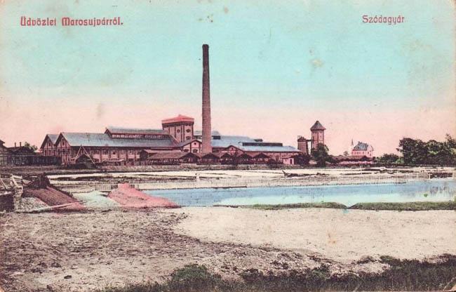 Uzina de produse sodice Ocna Mures 1901